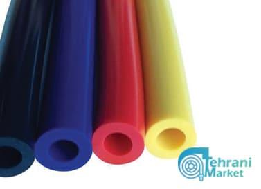 شیلنگ سیلیکونی رنگی